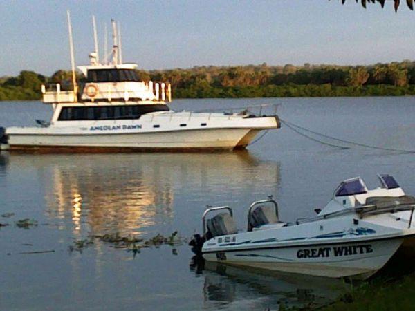 Pesca no Rio Kwanza
