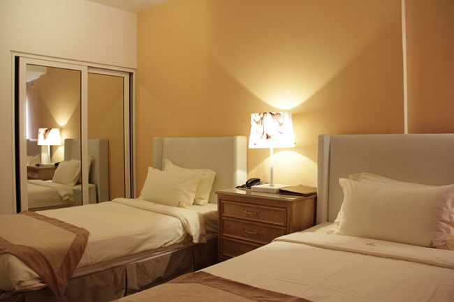 Hotel Ritz Sumbe Sumbe ~ Quarto Tipo Twin
