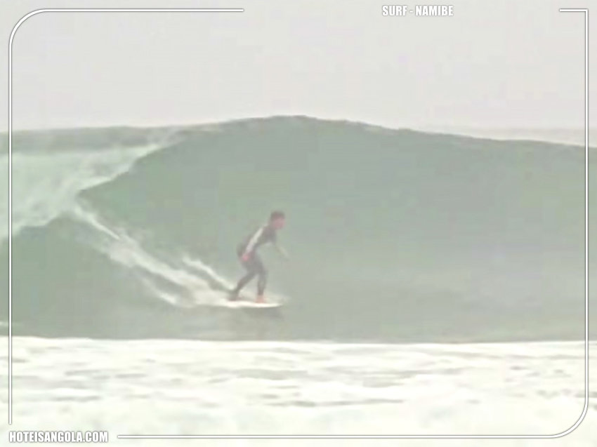 Surf em Namibe