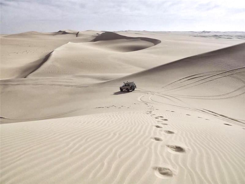 Conduzir na areia!!!