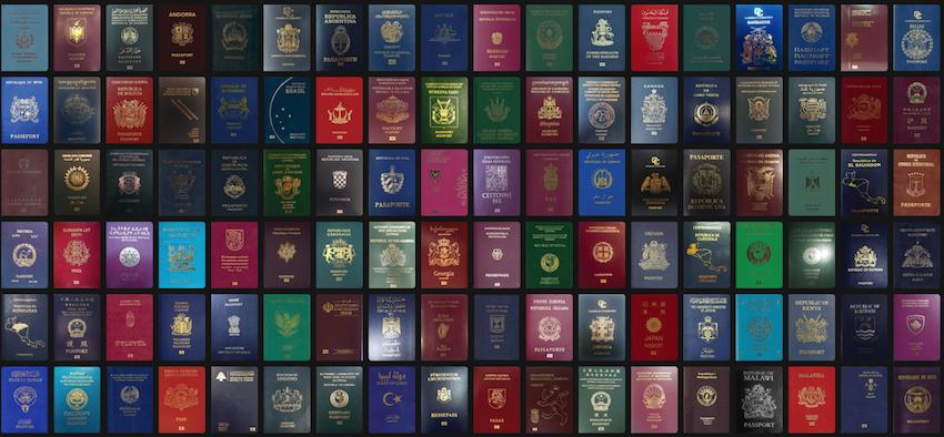 Qual o significado das cores dos passaportes?