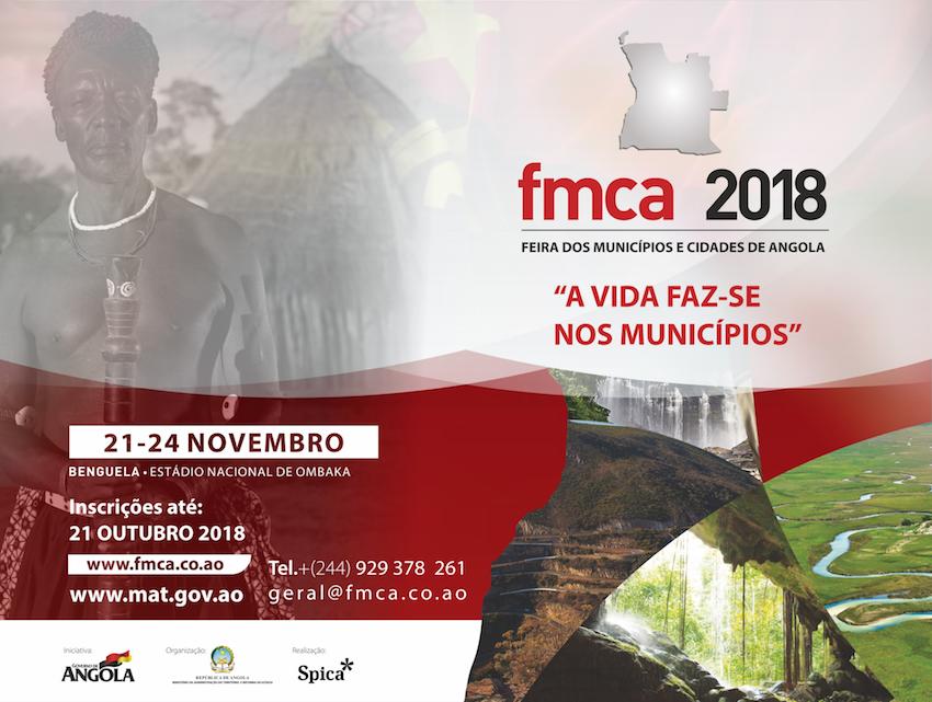 FMCA - Feira dos Municipios e Cidades de Angola 2018