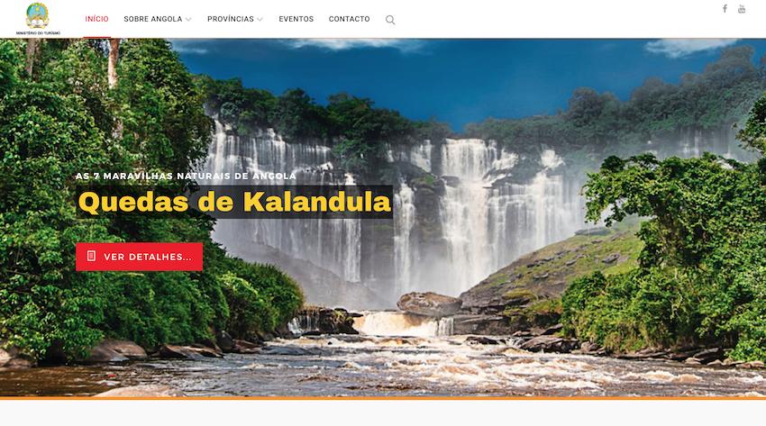 Angola lança website para promover potencial turístico ao mundo