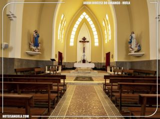 Interior of the Archdiocese of Lubango