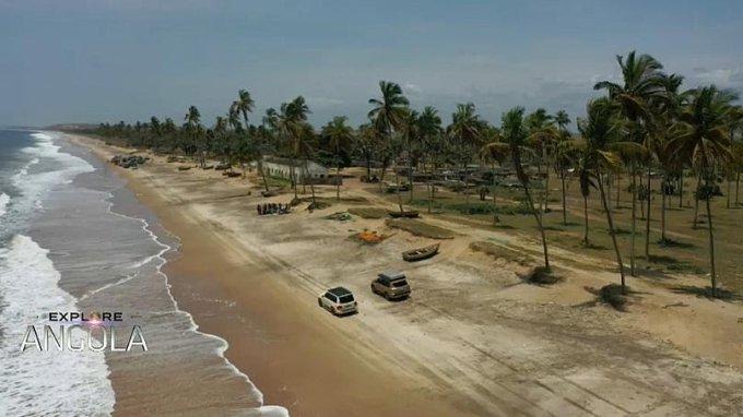 Porto de Luanda à foz do Rio Onzo, a fantasia de um motorista de 4x4