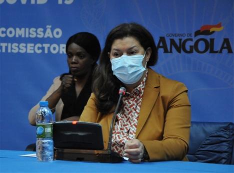 Directora Nacional de Saúde Pública, Helga Freitas.