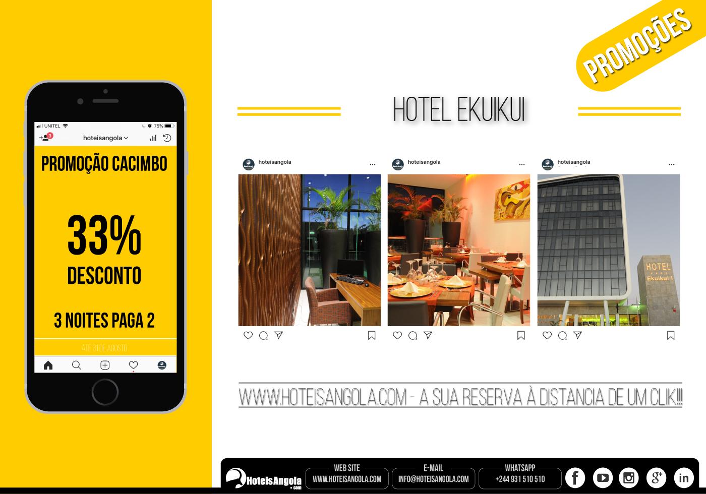Hotel Ekuikui - até 33% Desconto