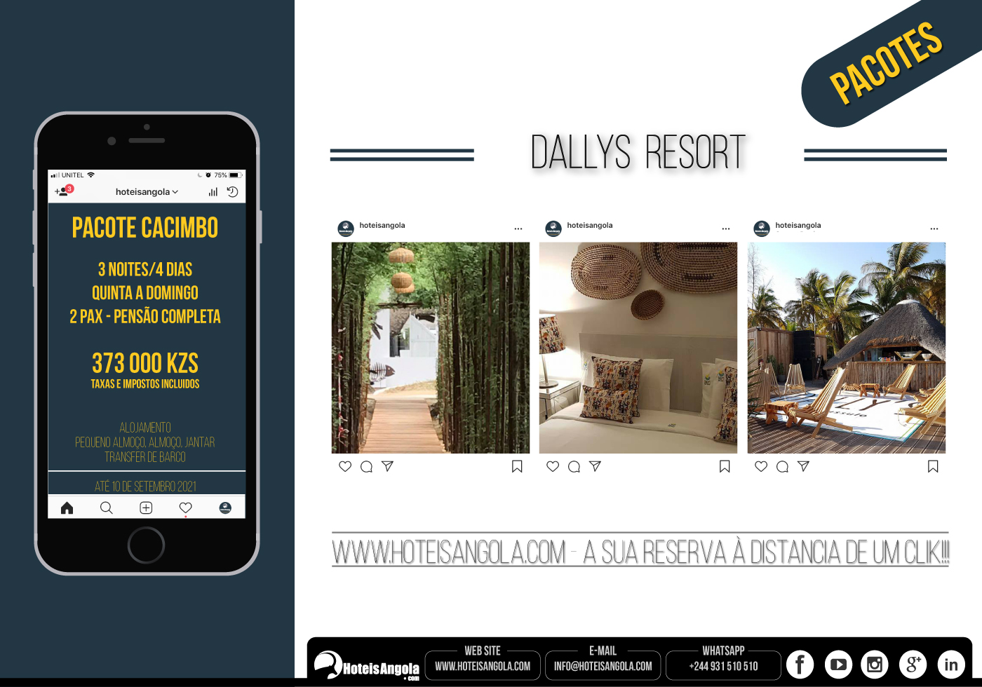 PACOTE - Dallys Resort