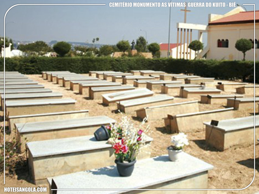 Cemitério Monumento as vítimas da guerra do Kuito