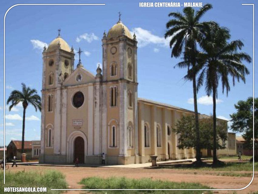 Igreja centenária construída em Malanje