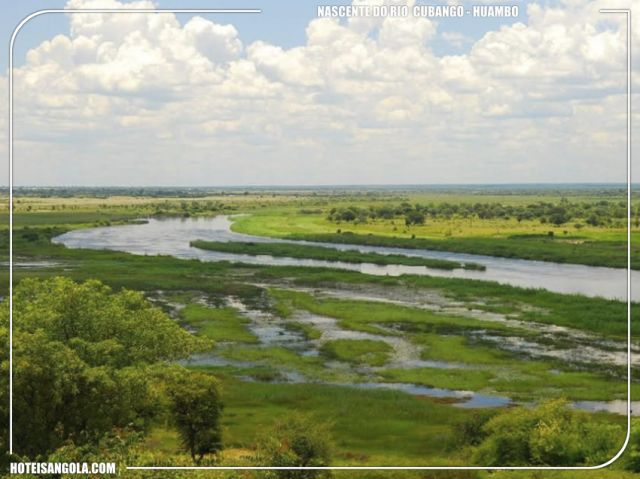 Source of the Cubango River (Okavango)