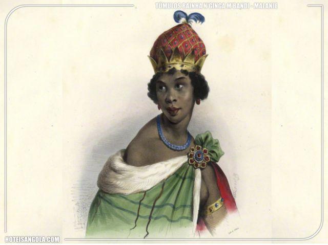 Túmulos da Rainha N`Ginga M`Bandi, N`Gola M`Bandi